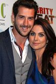 LOS ANGELES - JUL 16:  Grant Turnbull, Nadia Bjorlin at the ESPYs AfterShow Dinner Party at the Palm Resturant on July 16, 2014 in Los Angeles, CA
