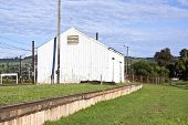 Storage Shed At Railway Station In Midlands, Kwazulu-natal