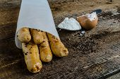 Homemade Baked Breadsticks