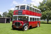 Double Decker Bus At Natal Vintage Tractor And Machinery Club