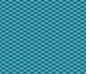 Blue mosaic seamless vector background. Graphic pattern with rhombus elements. Vector seamless illus