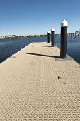 Jetty With A Modern Floor Cover