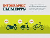 Transportation Infographic Element