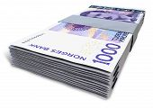 Norwegian Krone Notes Bundles