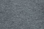 Texture Of Knitted Fabric Silver Color