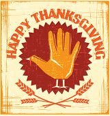 Happy Thanksgiving design