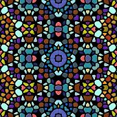 Glass Mosaic Kaleidoscopic Seamless Generated Hires Texture