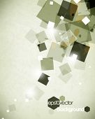 eps10 vector square elements concept abstract background