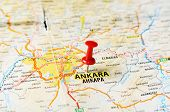 Ankara ,turkey  Map
