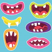Monster Mouths Set