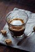 Espresso Macchiato with Brown Sugar