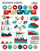 Business infographics template.