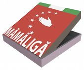 Abkhazia National Food - Mamaliga