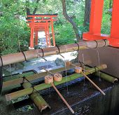 Holy water Japan