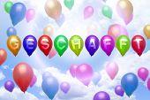 German - Nailed It -balloon Colorful Balloons