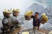 Kawah Ijen - Sulphur Vulcano, Indonesia, East Jawa
