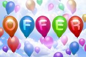 Offer Balloon Colorful Balloons