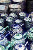 Ceramic Tea Set