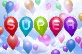 Super Balloon Colorful Balloons