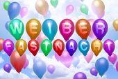 German Weiberfastnacht Balloon Colorful Balloons