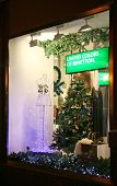 Christmas Decoration Showcase Store Benetton Nizhny Novgorod
