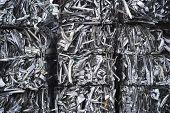 Fardos de alumínio de sucata