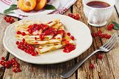 Постер, плакат: Pancakes With Jam