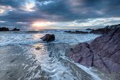 Whitsand Bay In Cornwall