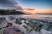 Sunrise Over Talland Bay