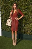 LOS ANGELES - JAN 9:  Louise Roe at the LoveGold Event at the Selma House on January 9, 2014 in Los Angeles, CA