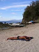 dormir al sol