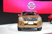 Bangkok - November 28: Nissan Np300 Navara Car On Display At The Motor Expo 2014 On November 28, 201