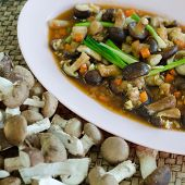 Fried Shiitake Mushrooms With Oyster Sauce