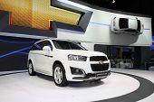 Bangkok - November 28: Chevrolet Captiva 2.4 Ltz (svp)  Car On Display At The Motor Expo 2014 On Nov