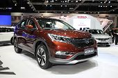Bangkok - November 28: Honda Cr-v Car On Display At The Motor Expo 2014 On November 28, 2014 In Bang