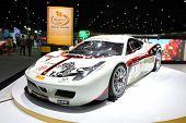 Bangkok - November 28: Ferrari Car On Display At The Motor Expo 2014 On November 28, 2014 In Bangkok