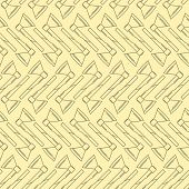 Yellow vector background for axe
