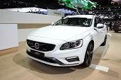 Bangkok - November 28: Volvo V60 Car On Display At The Motor Expo 2014 On November 28, 2014 In Bangk