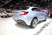 Bangkok - November 28: Back Of Subaru Viziv Concept Car On Display At The Motor Expo 2014 On Novembe