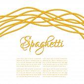 Realistic Twisted Spaghetti Pasta