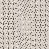Abstract seamless beige wallpaper vector pattern.