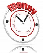 Money time  (clipping path included)