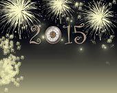 Happy New Year 2015 - fireworks