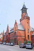 Klaipeda, Lithuania, November, 18, 2014: Church in Klaipeda, Lithuania.