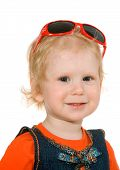 Small Girl With Spectacles