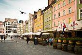 Wroclaw, Poland. The Market Square