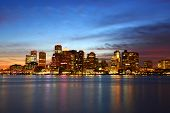 picture of skyscrapers  - Boston City Skyscrapers - JPG