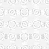 stock photo of paper cut out  - Seamless geometric background - JPG