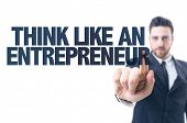 picture of entrepreneur  - Business man pointing the text - JPG