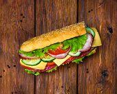 stock photo of sandwich  - Food design  - JPG